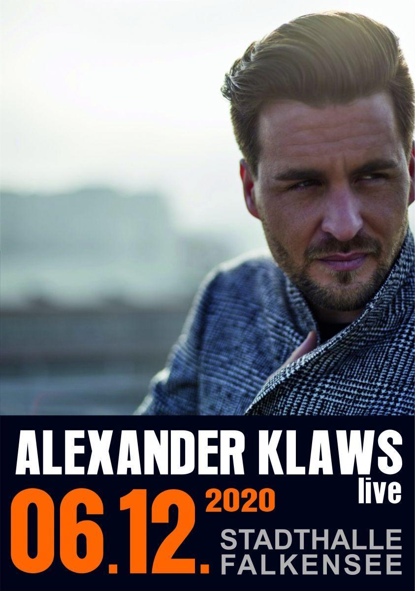 Alexander Klaws live