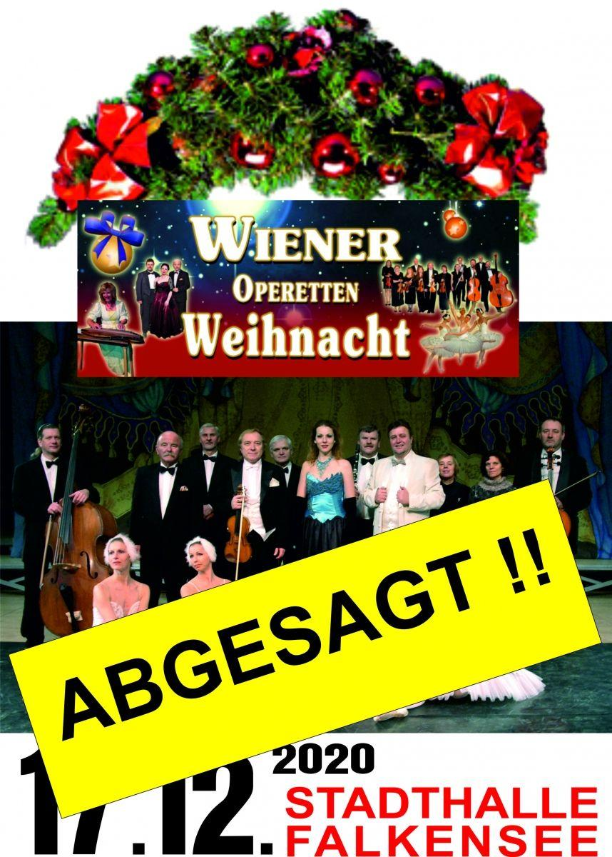 ABGESAGT - Wiener Operettenweihnacht