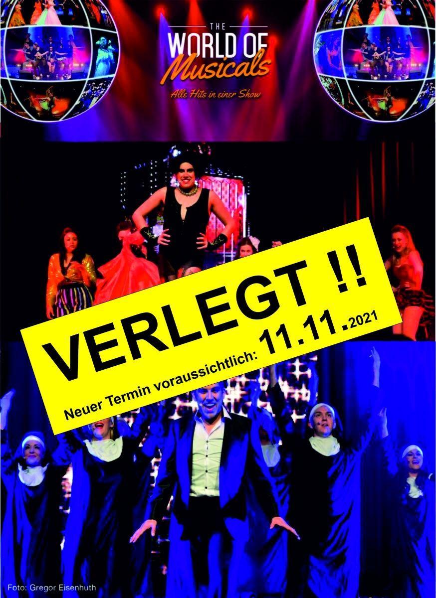 VERSCHOBEN !!! World of Musicals