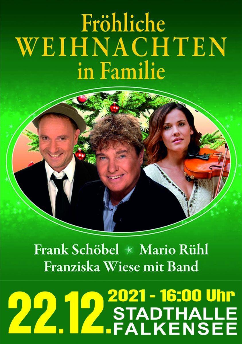 VERLEGT - Fröhliche Weihnachten mit Frank Schöbel
