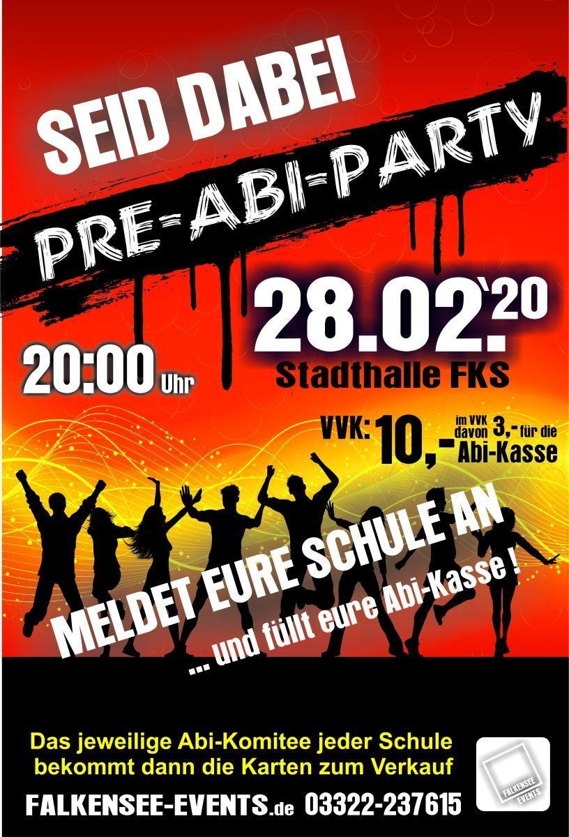 Pre-Abi-Party