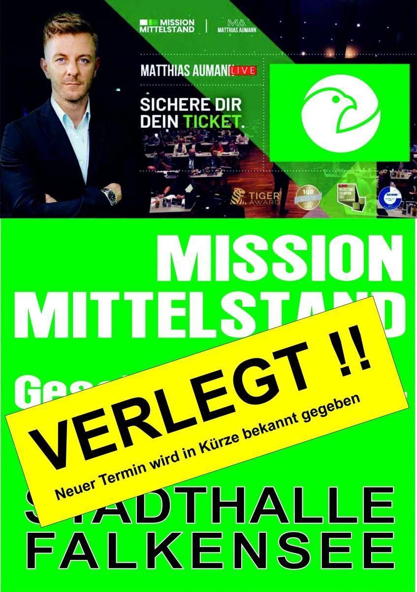 VERLEGT - Mission Mittelstand - Geschäftsführerseminar