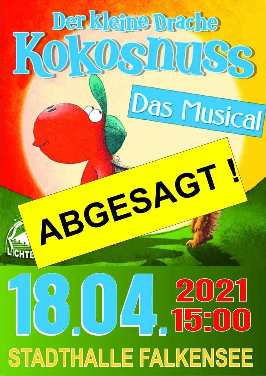 ABGESAGT - Der kleine Drache Kokosnuss - Das Musical