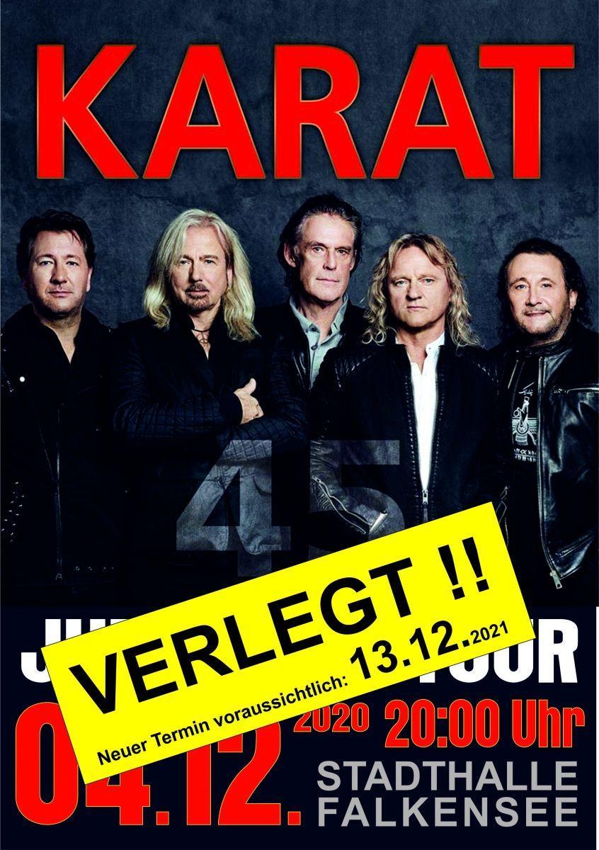 VERLEGT - KARAT 45 - die Jubiläumstour