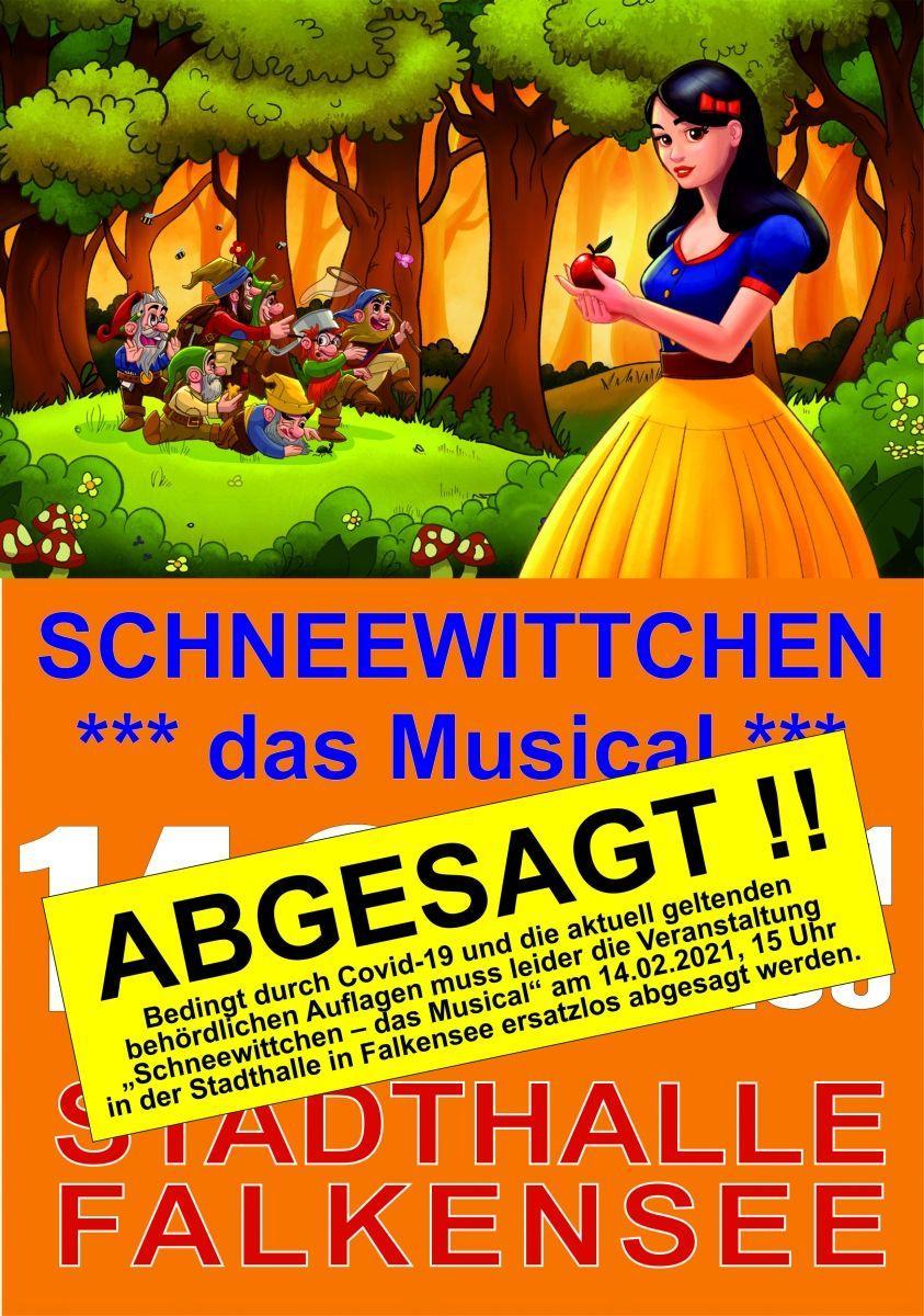 ABGESAGT - Schneewittchen - das Musical
