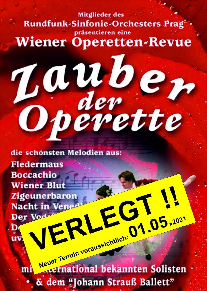 VERSCHOBEN - Zauber der Operette