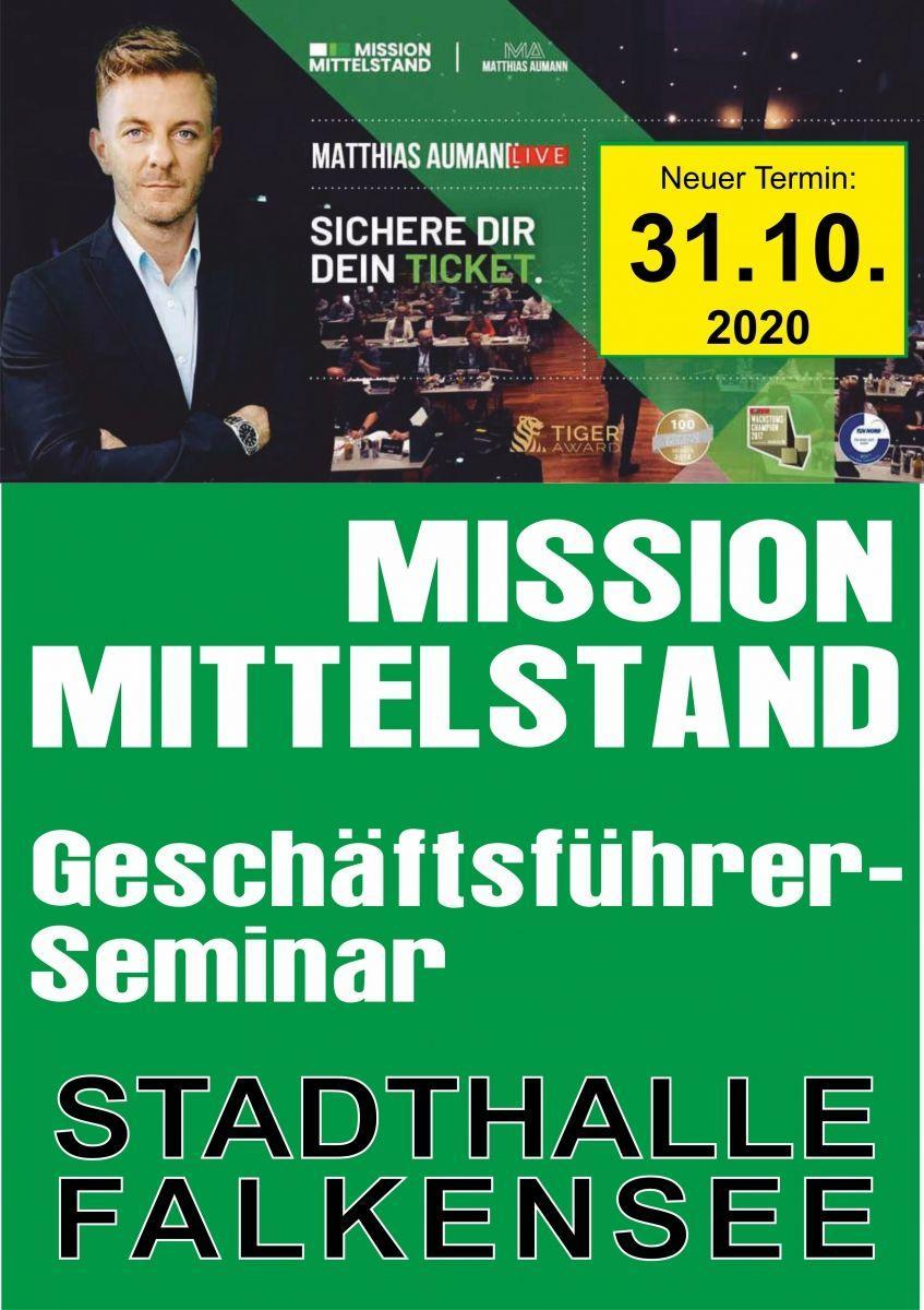 Mission Mittelstand - Geschäftsführerseminar