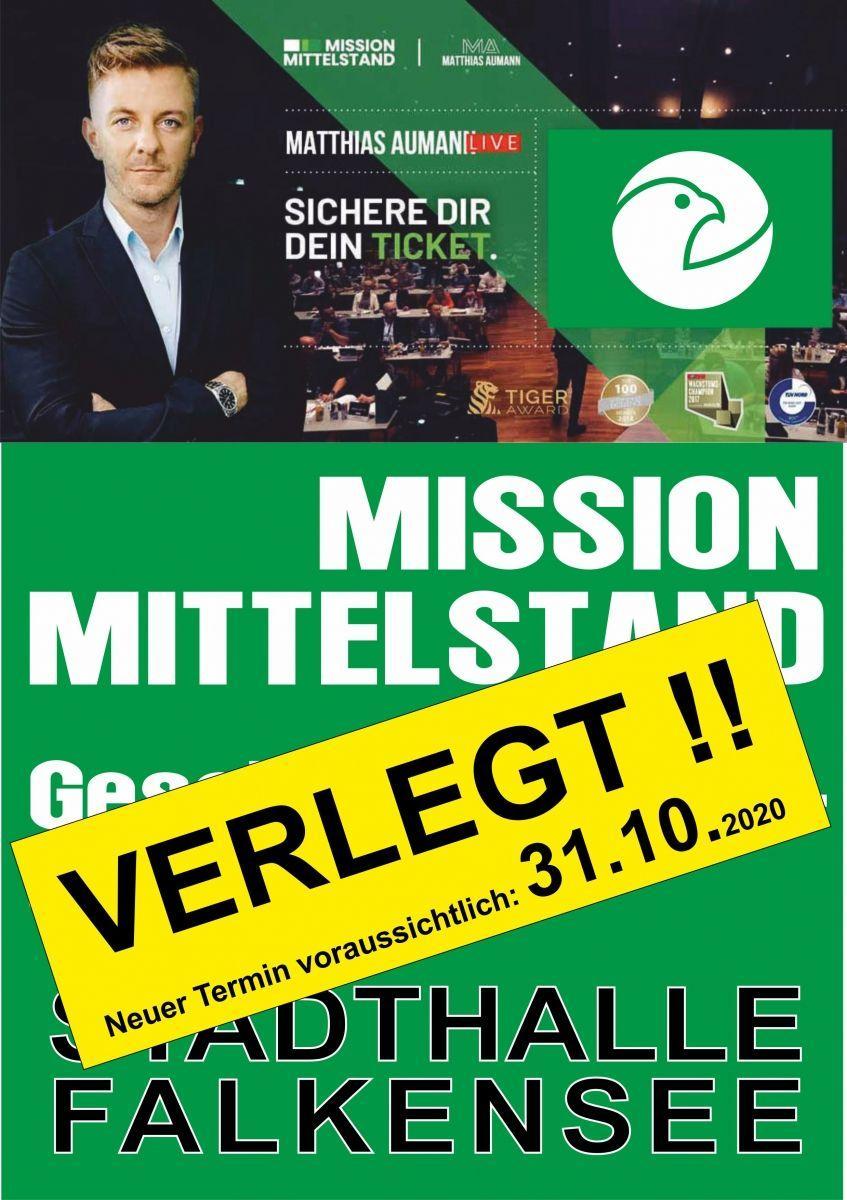 VERELEGT Mission Mittelstand - Geschäftsführerseminar