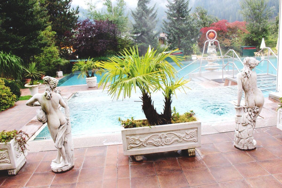 Hotel Ronacher, Whirlpool, Außenbereich, Natur, Wellness, Welness, Fitness, Day, Spa, Ruhe